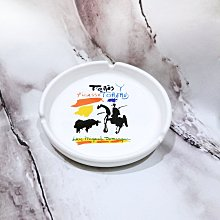 PABLO PICASSO畢卡索淺盤煙灰缸 飾品盤 西班牙帶回 SPADEM. 1995