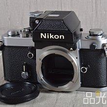 【品光攝影】Nikon F2A Body 單機身 經典機械式底片機 銀機 #106123