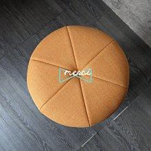 美希工坊獨創商品 大吉圓凳吧台椅 AUSPICIOUS BAR STOOL/最舒適坐感/洗白椅架/淺橘亞麻