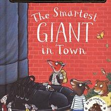 *小貝比的家*THE SMARTEST GIANT IN TOWN(最炫的巨人)/硬頁/3~6歲/幽默想像