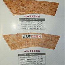 【台北市宏泰建材】OSB歐洲環保板/北美環保板4*8尺