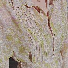 全新轉賣正韓漂亮歐膩~copiner, 春款渲染水彩畫洋裝(綠+紫),$1650含運