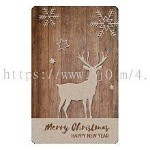 〈亮晶細沙 卡貼 貼紙〉聖誕節 馴鹿 麋鹿 christmas  貼紙 悠遊卡貼紙