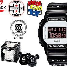 【美國鞋校】現貨 CASIO G-SHOCK 30週年 庫柏力克熊 DW-5600MT-1 MEDICOM TOY