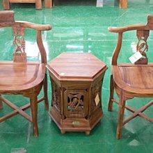 樂居二手家具 全新中古傢俱賣場 TK505*全新葡萄柚木公婆椅*洽談桌椅/會議桌椅/咖啡桌椅/房間椅 臥室家具拍賣床組