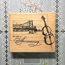 貝登堡印章 ~ K章(KT-4118)大提琴與舊金山橋