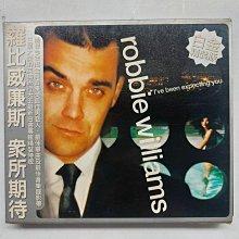 Robbie Williams - I've been expecting you 羅比 威廉斯 眾所期待 白金精裝版1998年 EMI發行