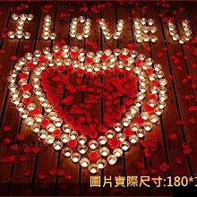 排字 求婚 表白 蠟燭套餐 豪華 I ♥ U 雙愛心款 求婚蠟燭 排字蠟燭 情人節禮物 35號【P11002302】
