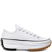 【E.D.C】CONVERSE Run Star Hike 星星標 厚底 白 男女鞋 168817C