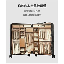 鋁框sup行李箱抗壓超大容量個性萬向輪玫瑰金旅行箱加厚版登機箱20吋24吋25吋29吋~~小隨時店鋪~~0090