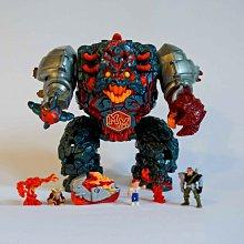二手《萬能麥斯》(Mighty Max)金剛怪魔豪華版 1992 藍鳥玩具 完整 玩具 老玩具/懷舊童玩復古收藏