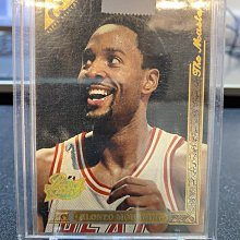 1995-96 TOPPS GALLERY PLAYER'S PRIVATE ISSUE ALONZO MOURNING