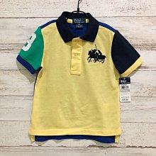 Maple麋鹿小舖 美國購買 童裝品牌POLO RALPH LAUREN 男童短袖POLO衫 * ( 現貨2號 )