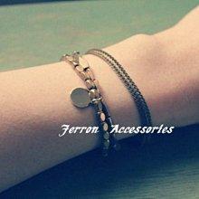Ferron Accessories No. 47 狐狸尾巴黃銅手鍊 訂製 Handmade 復古 歐美  黃銅