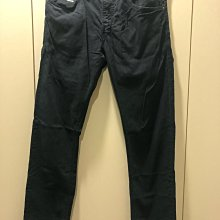 Diesel slim skinny 藍黑色薄款微彈性 直筒窄長褲 32 已售出