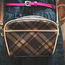 全新 Dunlop 登祿普 皮件 英國風 經典格紋 斜背包 肩背包