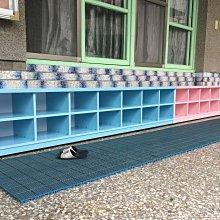 【承鑫家具】南亞塑鋼系列 尺寸皆可手工訂製 來電0422229000 十四格矮鞋櫃 兒童塑鋼鞋櫃 兒童鞋櫃 兒童坐鞋椅