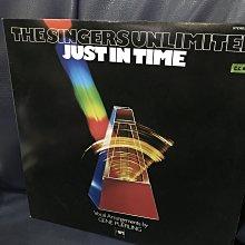 開心唱片 (JUST IN TIME / THE SINGERS UNLIMITED) 二手 黑膠唱片 CC076