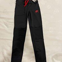 全新 NIKE 女童 緊身黑色運動褲
