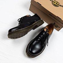 Dr. Martens 1461 3孔 皮鞋 黑色 硬皮 經典款 馬汀靴 男女鞋