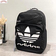 【小仙女雜貨鋪】現貨 Adidas Originals 後背包 書包 雙肩背 黑 黑白 三葉草 愛迪達 筆電夾層