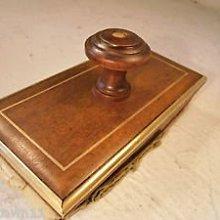 老款木質壓墨器