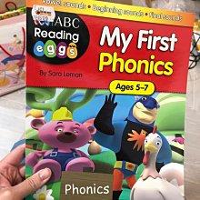 全新  my first phonics 5~7歲 小朋友 英文學習書 ABC EEE