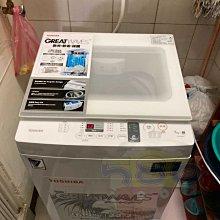 台南送安裝《台南586家電館》TOSHIBA東芝 7公斤 直立式洗衣機【AW-J800AG(WW) 】
