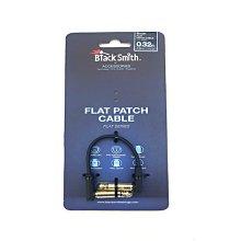 Black Smith FPC-10 扁平頭短導線 10cm - 【黃石樂器】