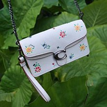 COACH 1980-810最新款Tabby mini女生花朵酒神包 翻蓋包