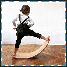 現貨 彎曲板 玩偶樂園 ins北歐實木兒童彎曲板平衡木 蹺蹺板玩具早教感統訓練器瑜伽彎板