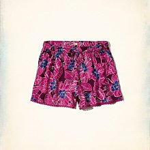 《Cupio》現貨 AF Hollister Co. Edged Drapey Shorts 甜美花卉舒適短褲 (S)