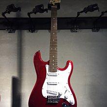 【六絃樂器】全新精選 Bensons ST型 紅色電吉他 / 現貨特價