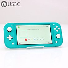 【US3C-小南門店】公司貨 任天堂 Nintendo Switch Lite Turquoise 藍綠色 電動遊戲主機 二手電玩主機