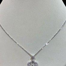 總重1.18克拉天然鑽石項鍊,香港金工手工製作,鑑賞價75800元,主鑽配鑽都漂亮又閃亮,主鑽50分八心八箭完美車工,火光好