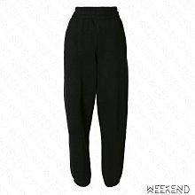 【WEEKEND】 ALEXANDER WANG Track 寬鬆 休閒 長褲 黑色