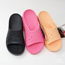 ♀️女:母子鱷魚-舒適厚底增高拖鞋(黑/桃粉/黃橘)、船型拖鞋、人體工學拖鞋、運動按摩拖鞋、增高彈力拖鞋、一體成型拖鞋