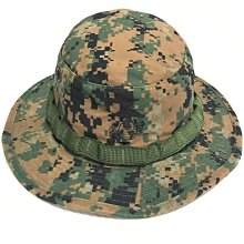 美軍公發 USMC 海軍陸戰隊 MARPAT 叢林數位迷彩 闊邊帽 奔尼帽
