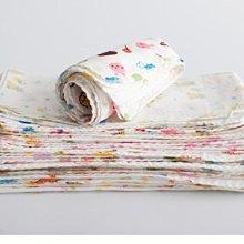 大款30*30cm 高密度紗布巾 印花小手帕 兒童雙層紗布巾 紗布手帕嬰兒純棉餵奶巾全棉口水巾西松屋同款