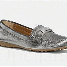 現貨真品 Coach Shoes 柔軟真皮平底休閒鞋 走路鞋 懶人鞋 包鞋 豆豆鞋 8.5號 免運費 iCoachBag