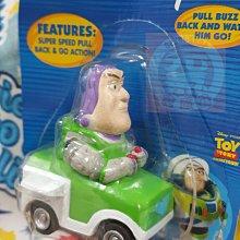 稀有珍品 美國版 玩具總動員 MINI PULLBACK 絕版迷你 迴力車  回力車 (胡迪/巴斯/抱龍/札克)