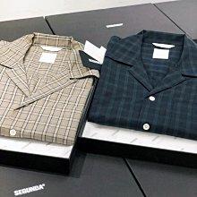 【希望商店】SEGUNDA HYANNIS SHIRT 21SS 極簡 寬鬆 古巴 格紋 短袖襯衫