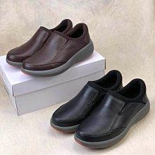 出清特賣clarks克拉克男鞋18秋新款休閒鞋低幫皮鞋男Un Rise Step一腳套便鞋咖色39-44
