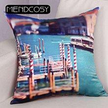 《獨家預購》水城威尼斯抱枕訂做家用抱枕 沙發靠墊禮品抱枕 歐式抱枕靠墊含芯 可來圖訂做 生日禮物bz0503