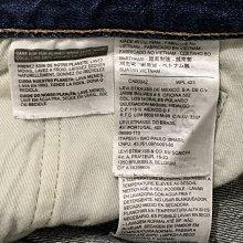 二手 Levis 經典 501 排扣 直筒 牛仔褲 W30 L34