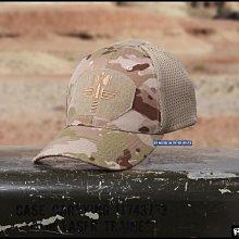 【野戰搖滾-生存遊戲】魔蠍迷彩棒球帽、小帽【Multicam Arid】沙漠多地形迷彩戰術帽軍帽網帽沙漠迷彩帽