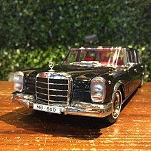 1/18 KengFai Mercedes-Benz Pullman Black KF0291【MGM】