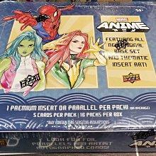 【現貨】全新漫威英雄盒卡 2020 marvel ANIME系列 全新完整原封盒 超熱 非拆剩 限定