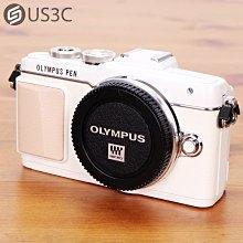 【US3C-板橋店】Olympus E-PL7 單眼相機 3吋觸控螢幕 翻轉螢幕 1610萬畫素 81點對焦 FullHD錄影 臉部對焦 瞳孔對焦