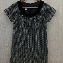 【愛莎&嵐】伊蕾ILEY 灰色混羊毛短袖上衣 / M 1091112